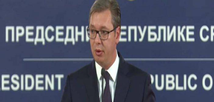 Председник Вучић: Албанцима није стало до поштовања права и правде