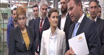 Ана Брнабић: БАТ највећи британски инвеститор у Србији