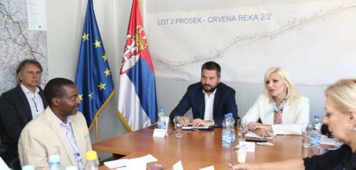 Михајловићева и Ндегва: На јесен пуштање у саобраћај целог источног крака Коридора 10