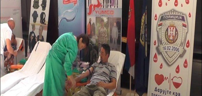 """У Компанији """"Јумко"""" организована акција добровољног давања крви"""
