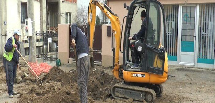 У току завршни радови у улици Народног хероја у Врању