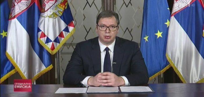 Вучић: Предаја за Србију никада није била и неће бити опција
