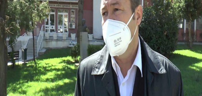 Станковић: Епидемиолошка ситуација на подручју Пчињског округа неповољна