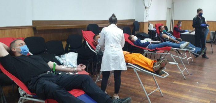 Добар одзив грађана у акцији добровољног давања крви у Врању