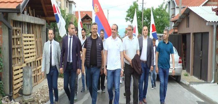 Локални функционери обишли Месне заједнице Шапранце и Бунушевац