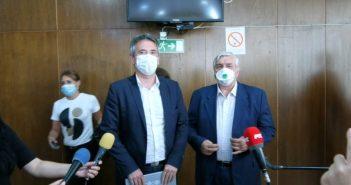 Тиодоровић у Врању поручио: Епидемиолошка ситуација из неповољне прешла у несигурну под контролом