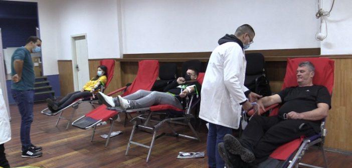 Одржана акција добровољног давања крви