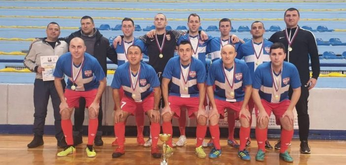 Екипа Војске Србије освојила прво место на турниру у малом фудбалу